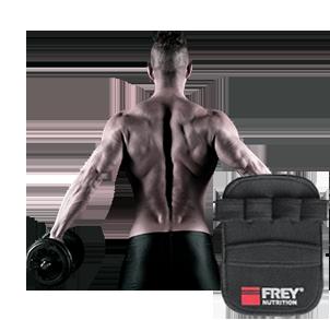 Griffpolster für Bodybuilding und Fitness