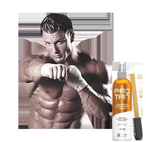 Bräunungsprodukte für Fitness und Bodybuilding Wettkämpfe