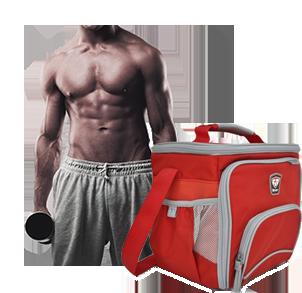 Mahlzeitentaschen für Fitness und Bodybuilding