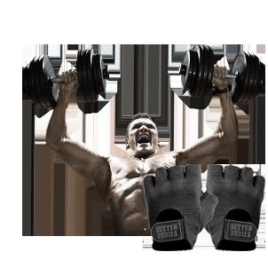 Fitnesshandschuhe und Trainingshandschuhe ohne Bandage
