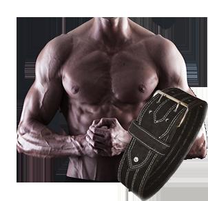 Kraftdreikampfgürtel
