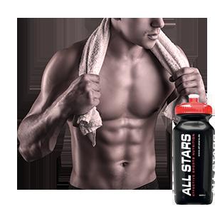 Trinklaschen für Fitnessstudio und Sport