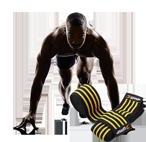 Kniebandagen für Kniebeugen im Bodybuilding und Fitness kaufen