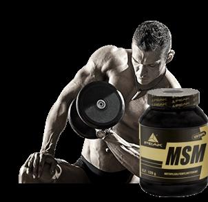 MSM Kapseln für Diät und Gelenke