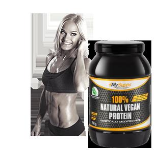 Vegane Sportnahrung für Fitness und Diät