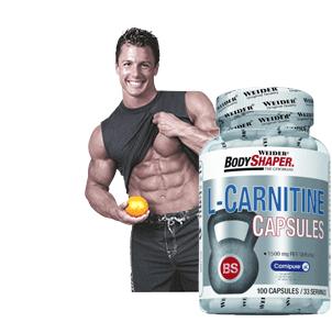 L-Carnitin kaufen zur Fettbrennung beim Training als Carnitin Riegel, Pulver oder Liquid