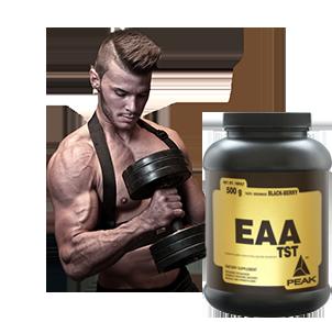 EAA Aminosäuren kaufen - EAAs in Kapseln und Pulver zum Muskelaufbau