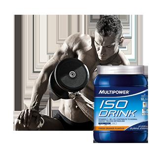 Iso Mineral Drinks Mineralgetränke für Sport und Fitness