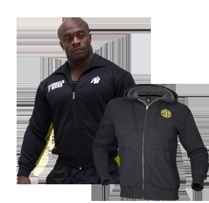 Jacken und Trainingsjacken für Bodybuilding und Fitness