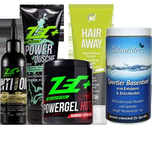 Kosmetik für Sport und Fitness