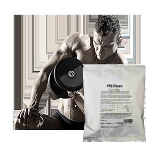 Leucin kaufen als L-Leucin Pulver zur Steigerung von Muskelaufbau und Proteinsynthese
