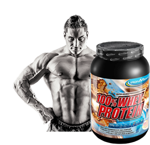 Protein auf Wasserbasis zum mixen mit Wasser