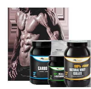 Spar Packs für Muskelaufbau und Diät bei Sportnahrung-Engel