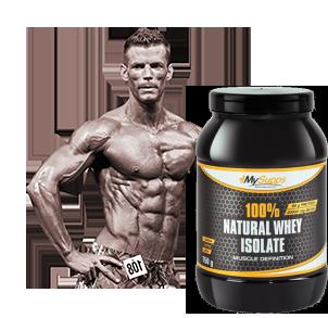 Whey Protein Isolat zum Muskelaufbau