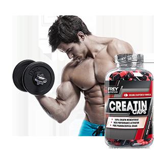 Creatin Produkte kaufen - Pulver und Kapseln für mehr Muskelaufbau, Kraft und Leistung beim Training