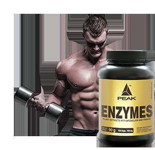 Enzyme Kapseln bei Sportnahrung-Engel