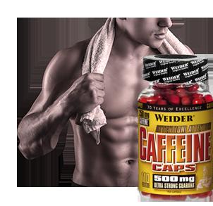 Koffein Produkte kaufen, Kapseln und Pulver mit hochdosiertem Koffein für Sport und Fitness
