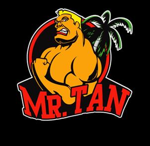 Mr. Tan Wettkampffarbe für Fitness und Bodybuilding