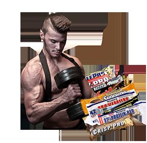 Riegel & Snack für Fitness und Sport