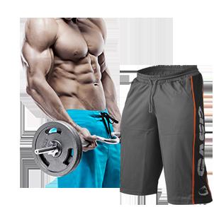 Fitness Shorts und kurze Hosen für Bodybuilder und Fitness Sportler