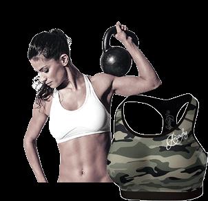 Sport BH für Fitness und Training