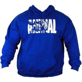 Universal Nutrition Animal Hooded Sweater Blau Bodybuilding Kapuzenpullover