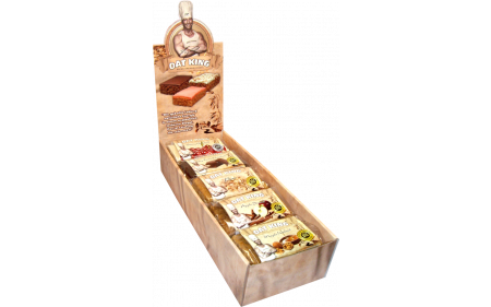OAT KING Vegane Box - 10 Riegel