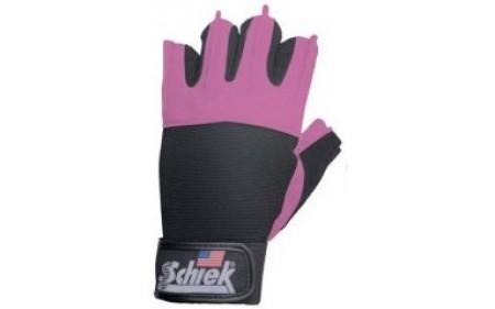 Schiek Sports Frauenfitnesshandschuhe Model 520 - pink