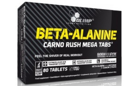 Olimp Beta-Alanine Carno Rush - 80 Tabletten