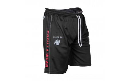 Gorilla-Wear_Functional-Mesh-Short-black-red