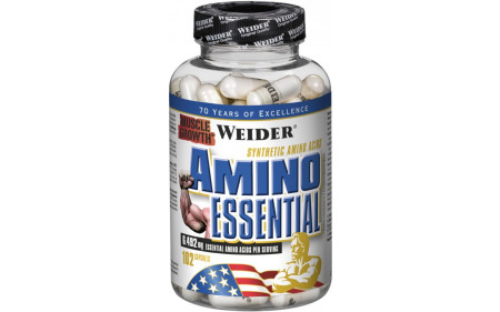 Weider Amino Essential EAA - 102 Kapseln