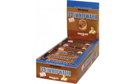 Weider 32% Whey Wafer - 24 Riegel
