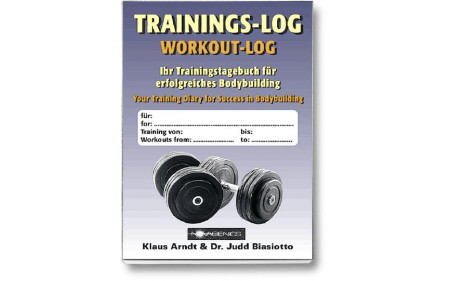 Trainings-Log (Klaus Arndt, Dr. Judd Biasiotto)