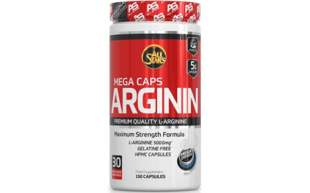 All Stars Arginin Mega Caps - 150 Kapseln