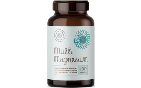 Alpha Foods Multi Magnesium - 180 Kapseln