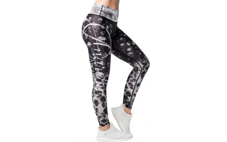 Anarchy Apparel Missfit Leggings - Black/White