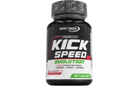 Best Body Nutrition Kick Speed Evolution - 80 Kapseln