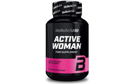 BiotechUSA Active Woman - 60 Tabletten