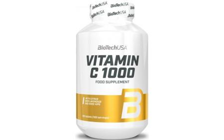BioTechUSA Vitamin C 1000 Bioflavonoids - 100 Tabletten