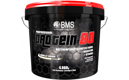 BMS Professional Protein 80 - 4000g