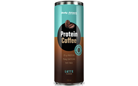 Body Attack Protein Coffee - 250ml