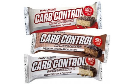 Body Attack Carb Control Protein Bar - 100g Riegel