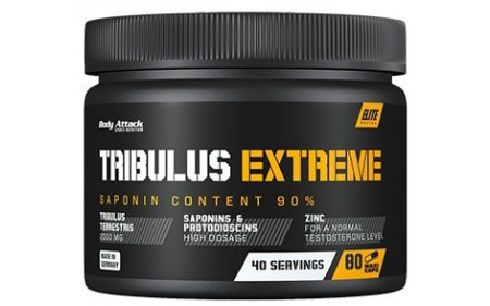 Body Attack Extreme Tribulus - 80 Kapseln