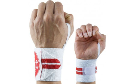 C.P. Sports Handgelenkbandagen weiß 30cm