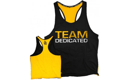 Dedicated Nutrition Stringer Team Dedicated – Yellow Black