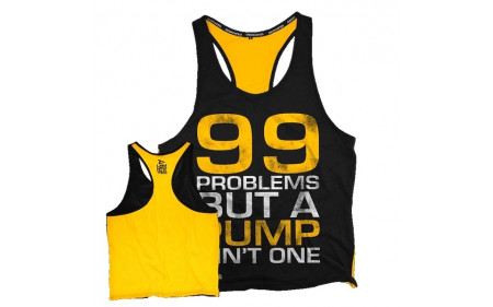 Dedicated Nutrition Stringer 99 Problems - Yellow Black