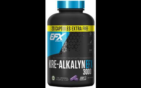 EFX Kre-Alkalyn 3000 - 260 Kapseln á 750mg