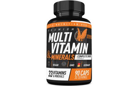 Engel Nutrition Multi-Vitamin & Mineral Sport Formula - 90 Kapseln