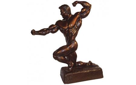 Bodybuilding Figur Man - Kneeling 35cm