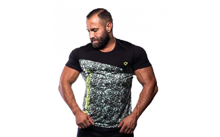 Fitnessvictim Men Camou Shirt